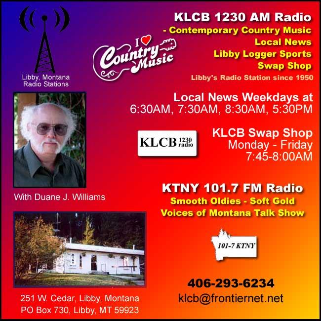 KLCB-KTNY Radio, Libby, Montana